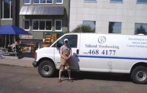 tailored woodworking van